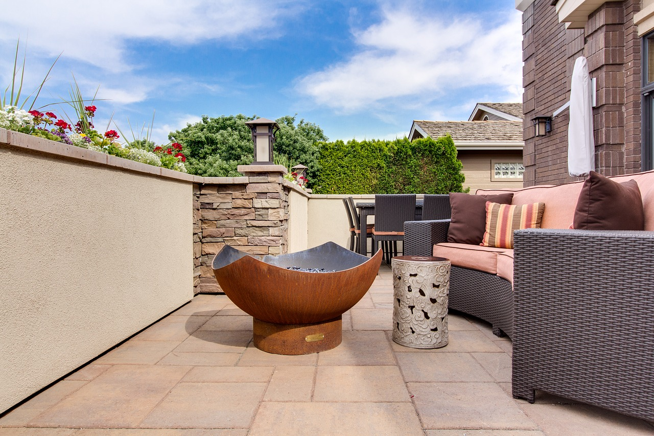 Using outdoor furniture to help Increase the Value to Your Property