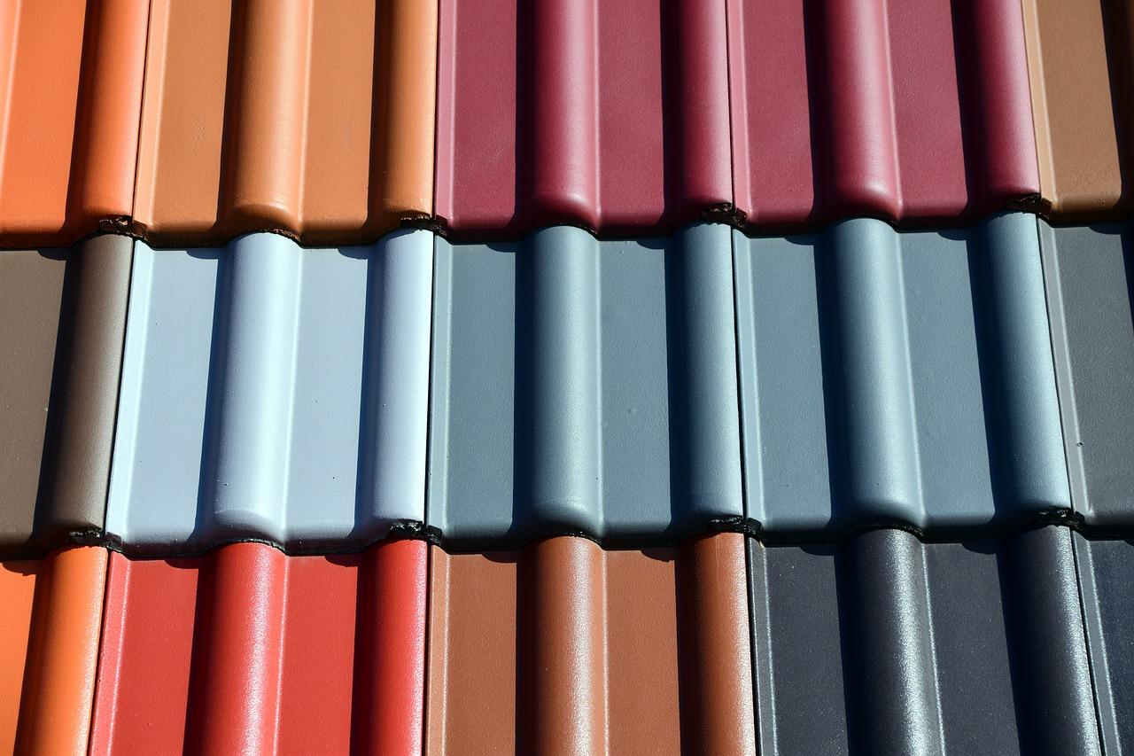 New Tiles Colourful shingles