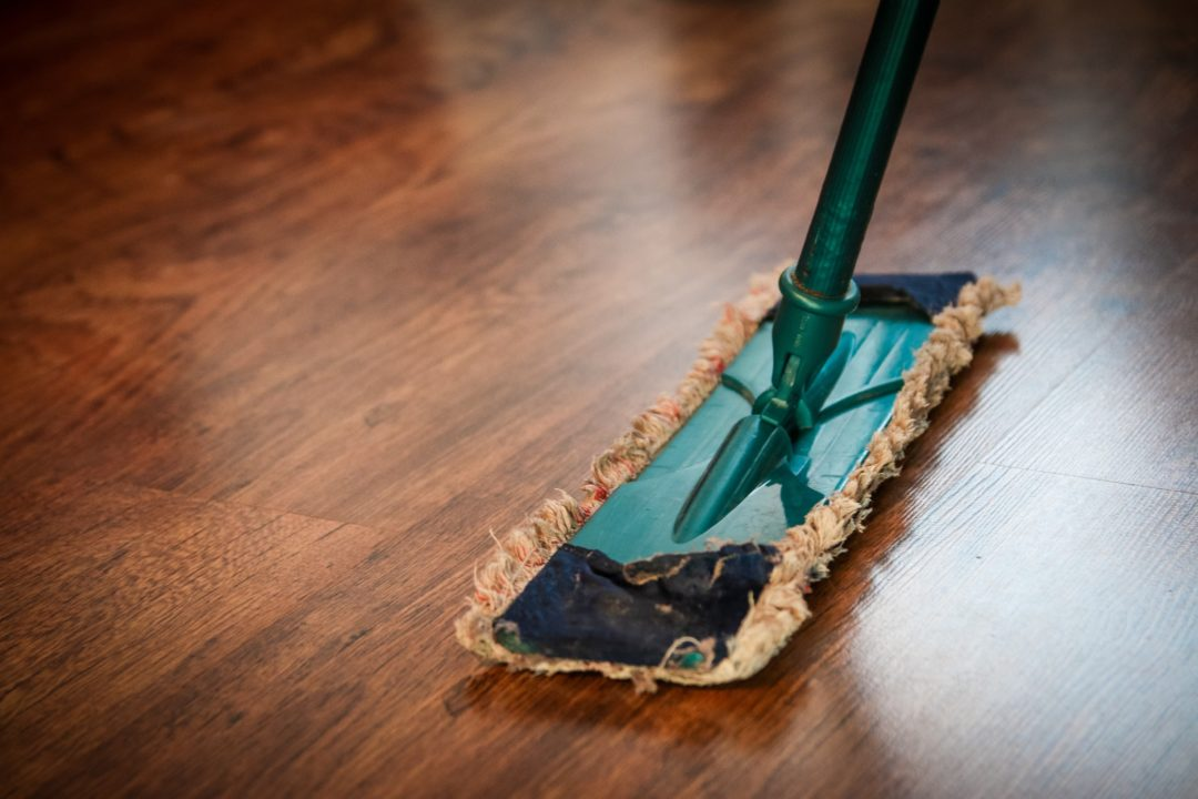 Cleaning the home before selling your house