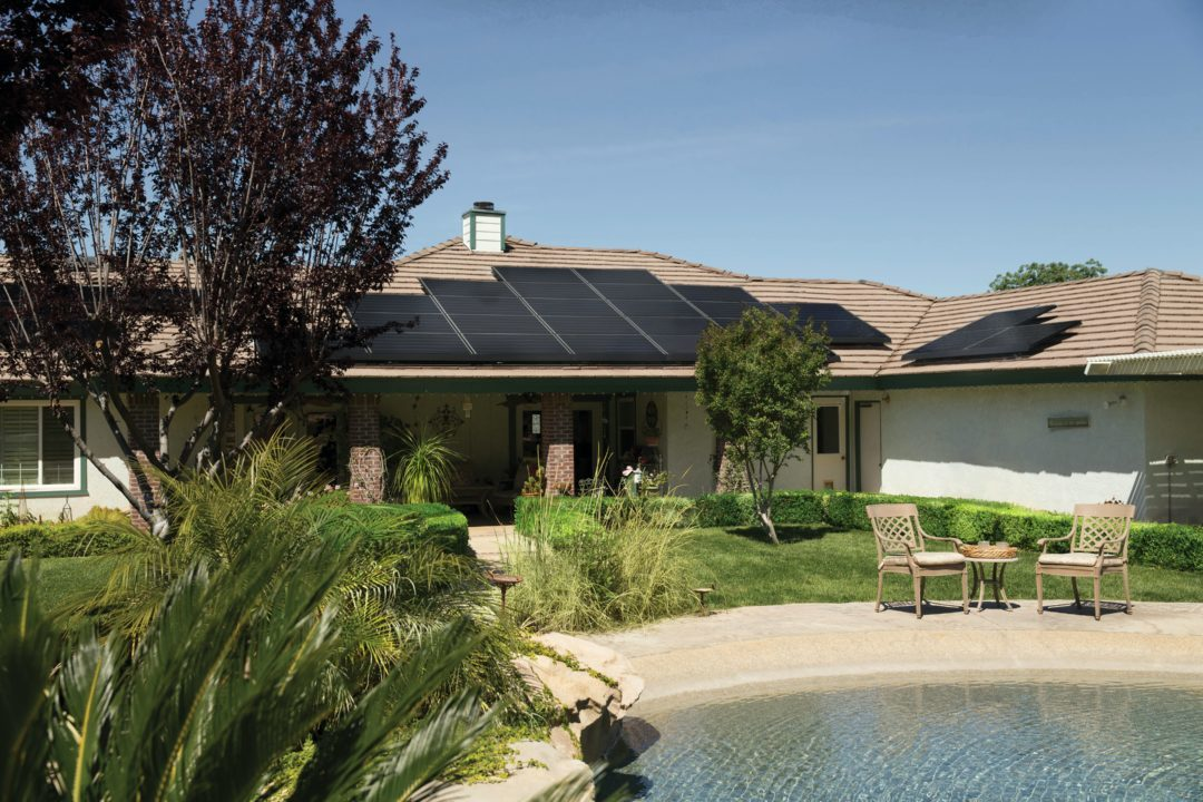 Solar Panels for energy efficient home